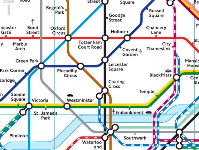 how to travel in london tube